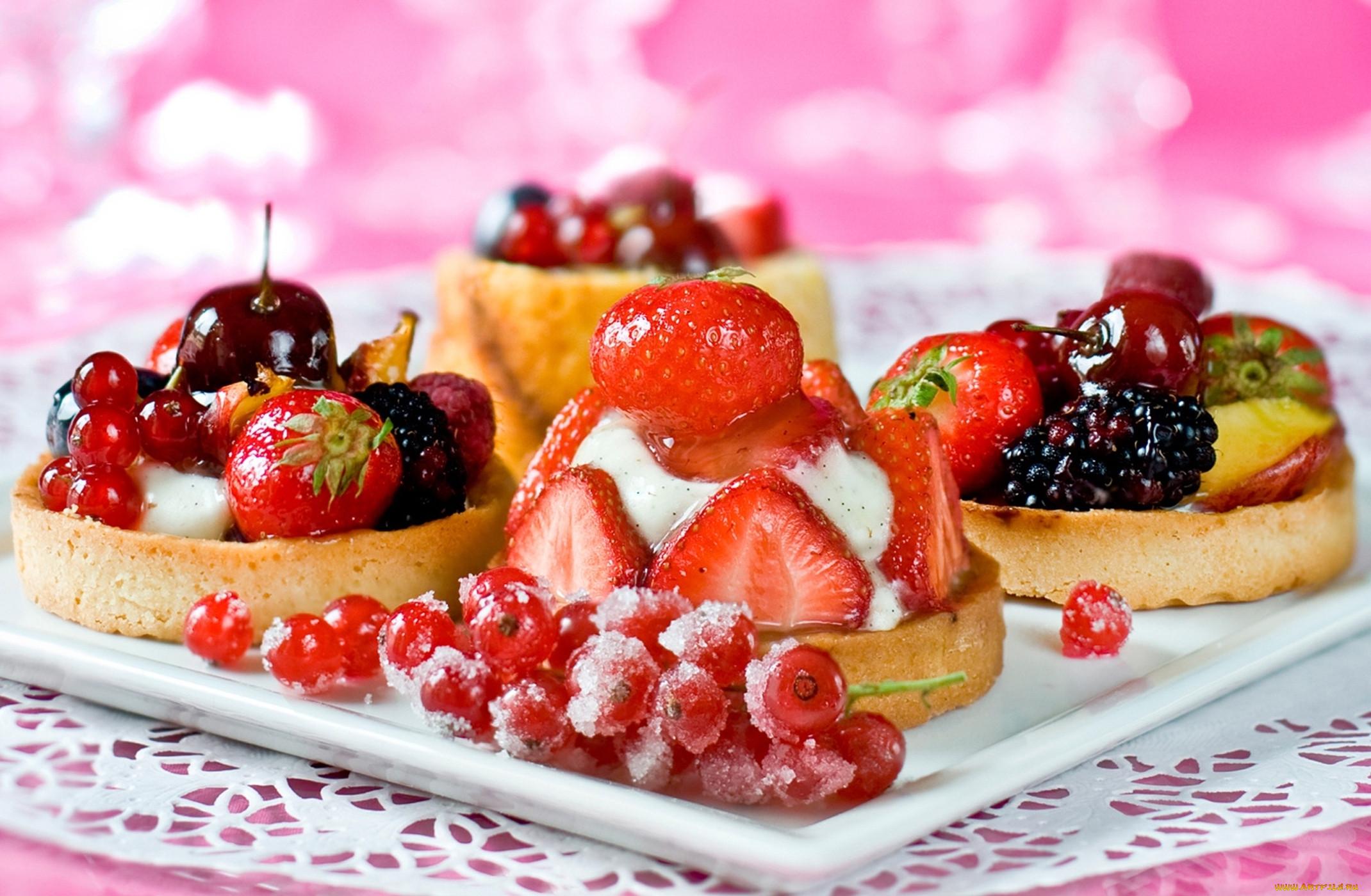 картинки пирожных с фруктами конструктор объявил